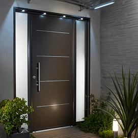 comment isoler une porte d'entrée