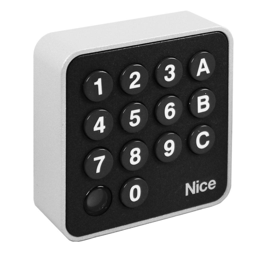 Programmer le clavier à code Nice EDSW sur un récepteur