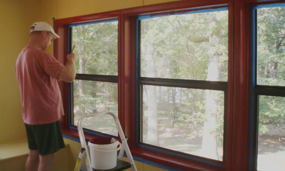 Changement de la couleur interieur des fenêtres, comment faire ?