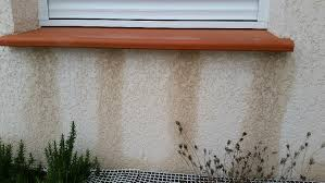 Coulures sous appui fenêtre, comment faire ?