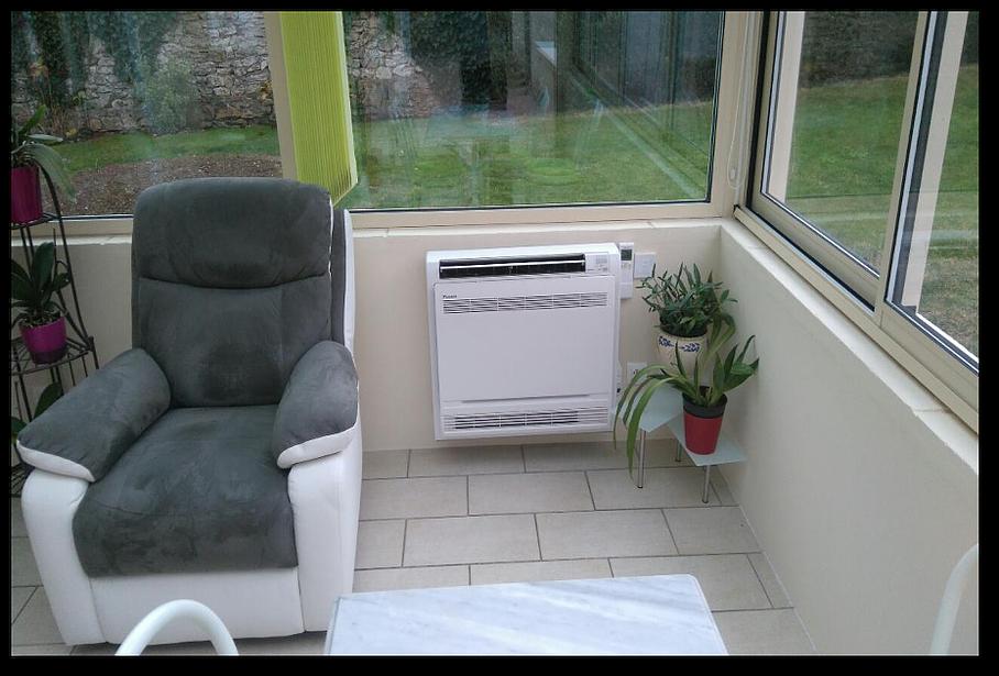 Qu'en est-il de la climatisation de la véranda ?